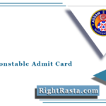 SLPRB Constable Admit Card 2021 (Out) | Download Assam Police AB UB Hall Ticket