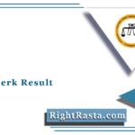 SSSC Clerk Result 2021 (Out) | Download Punjab and Haryana High Court Merit