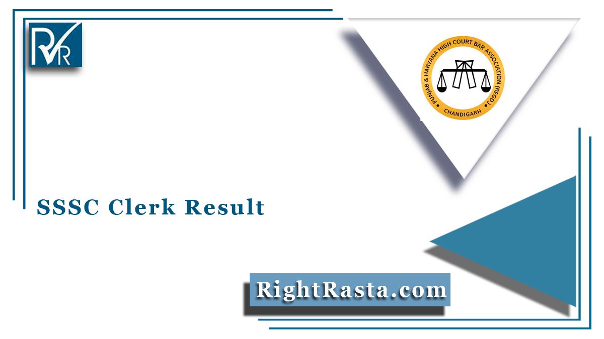 SSSC Clerk Result