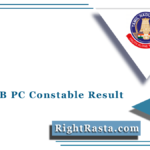 TNUSRB PC Constable Result 2021 (Out)   Download TN Police Exam Results