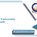 Tumkur University EMS Result 2021 (Out) | Download TUT UG PG Results