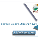UKSSSC Forest Guard Answer Key 2021 (Out) | Download Van Aarkshi Answer Sheet